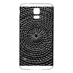 SPinning out of control Samsung Galaxy S5 Back Case (White) by timelessartoncanvas