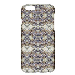 Oriental Geometric Floral Print Apple Iphone 6 Plus Hardshell Case by dflcprints
