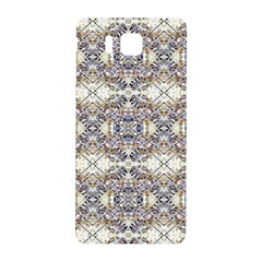 Oriental Geometric Floral Print Samsung Galaxy Alpha Hardshell Back Case by dflcprints