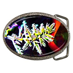 Digitally Enhanced Flower Belt Buckles