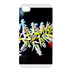 Digitally Enhanced Flower Apple Iphone 4/4s Hardshell Case by timelessartoncanvas