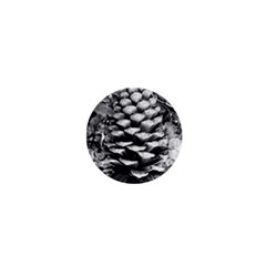 Pinecone Spiral 1  Mini Magnets by timelessartoncanvas