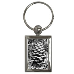 Pinecone Spiral Key Chains (rectangle)  by timelessartoncanvas