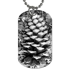 Pinecone Spiral Dog Tag (one Side) by timelessartoncanvas
