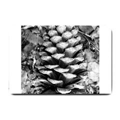 Pinecone Spiral Small Doormat  by timelessartoncanvas