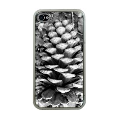 Pinecone Spiral Apple Iphone 4 Case (clear) by timelessartoncanvas