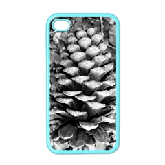 Pinecone Spiral Apple Iphone 4 Case (color) by timelessartoncanvas