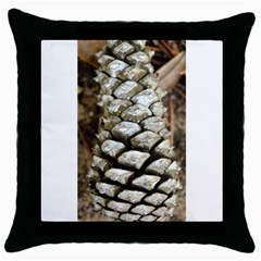Pincone Spiral #2 Throw Pillow Cases (black) by timelessartoncanvas