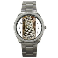 Pincone Spiral #2 Sport Metal Watches by timelessartoncanvas