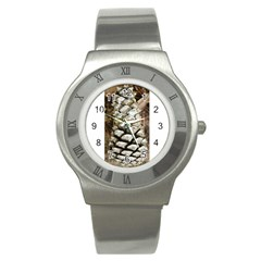 Pincone Spiral #2 Stainless Steel Watches by timelessartoncanvas