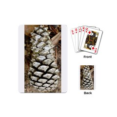 Pincone Spiral #2 Playing Cards (mini)  by timelessartoncanvas
