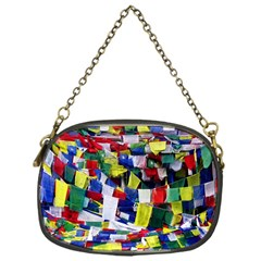 Tibetan Buddhist Prayer Flags Chain Purses (one Side)