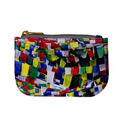 Tibetan Buddhist Prayer Flags Mini Coin Purses by CrypticFragmentsColors