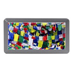 Tibetan Buddhist Prayer Flags Memory Card Reader (mini) by CrypticFragmentsColors