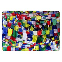 Tibetan Buddhist Prayer Flags Samsung Galaxy Tab 8 9  P7300 Flip Case by CrypticFragmentsColors
