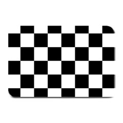 Checkered Flag Race Winner Mosaic Tile Pattern Plate Mats by CrypticFragmentsColors