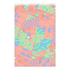 Tropical Summer Fruit Salad Shower Curtain 48  X 72  (small) by CrypticFragmentsColors
