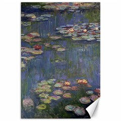 Claude Monet   Water Lilies Canvas 12  X 18   by ArtMuseum