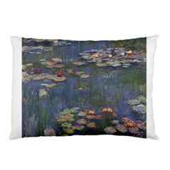 Claude Monet   Water Lilies Pillow Cases by ArtMuseum