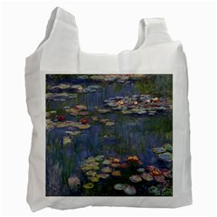 Claude Monet   Water Lilies Recycle Bag (one Side) by ArtMuseum