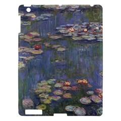 Claude Monet   Water Lilies Apple Ipad 3/4 Hardshell Case by ArtMuseum