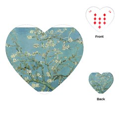 Almond Blossom Tree Playing Cards (heart)