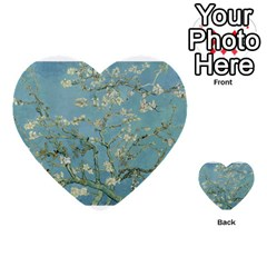 Almond Blossom Tree Multi Purpose Cards (heart)