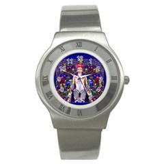 Robot Butterfly Stainless Steel Watches by icarusismartdesigns