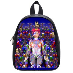 Robot Butterfly School Bags (small)  by icarusismartdesigns