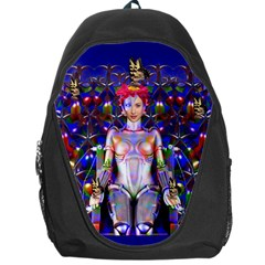 Robot Butterfly Backpack Bag by icarusismartdesigns