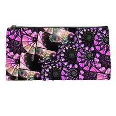 Hippy Fractal Spiral Stacks Pencil Cases