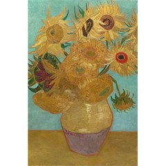 Vincent Willem Van Gogh, Dutch   Sunflowers   Google Art Project 5.5  x 8.5  Notebooks by ArtMuseum