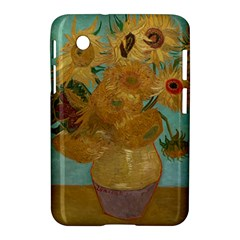 Vincent Willem Van Gogh, Dutch   Sunflowers   Google Art Project Samsung Galaxy Tab 2 (7 ) P3100 Hardshell Case  by ArtMuseum