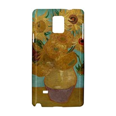 Vincent Willem Van Gogh, Dutch   Sunflowers   Google Art Project Samsung Galaxy Note 4 Hardshell Case by ArtMuseum