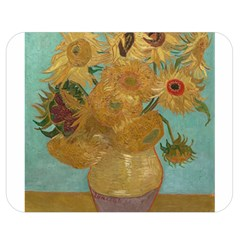 Vincent Willem Van Gogh, Dutch   Sunflowers   Google Art Project Double Sided Flano Blanket (medium)