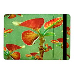 Tropical Floral Print Samsung Galaxy Tab Pro 10 1  Flip Case by dflcprints