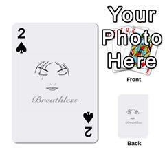Breathless Playing Cards 54 Designs