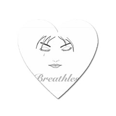 Breathless Heart Magnet by morbidcandy