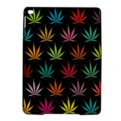 Cannabis Leaf Multi Col Pattern Ipad Air 2 Hardshell Cases by ScienceGeek