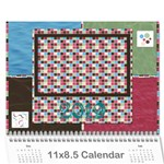 Bloop Bleep 2016 Calendar - Wall Calendar 11  x 8.5  (12-Months)