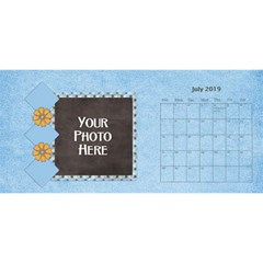 2016 Primavera 11x5 Calendar By Lisa Minor   Desktop Calendar 11  X 5    Bdd5zj3hj1pb   Www Artscow Com Jul 2016
