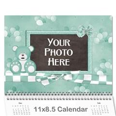 2016 Watch Me Grow Boy Calendar By Lisa Minor   Wall Calendar 11  X 8 5  (12 Months)   0e0fe6p4rkaz   Www Artscow Com Cover
