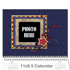 2016 Primary Cardboard Calendar 1 By Lisa Minor   Wall Calendar 11  X 8 5  (12 Months)   Bvsvpkup7cpb   Www Artscow Com Cover