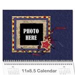 2016 Primary Cardboard Calendar 1 - Wall Calendar 11  x 8.5  (12-Months)