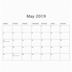 2019 Tangerine Breeze Calendar By Lisa Minor   Wall Calendar 11  X 8 5  (12 Months)   Pmxl6ewr8b0u   Www Artscow Com May 2019