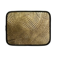 Brushed Gold 050549 Netbook Case (small)  by AlteredStates