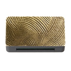 Brushed Gold 050549 Memory Card Reader With Cf by AlteredStates