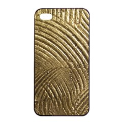 Brushed Gold 050549 Apple Iphone 4/4s Seamless Case (black) by AlteredStates