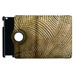 Brushed Gold 050549 Apple Ipad 2 Flip 360 Case by AlteredStates