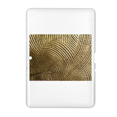 Brushed Gold 050549 Samsung Galaxy Tab 2 (10 1 ) P5100 Hardshell Case  by AlteredStates